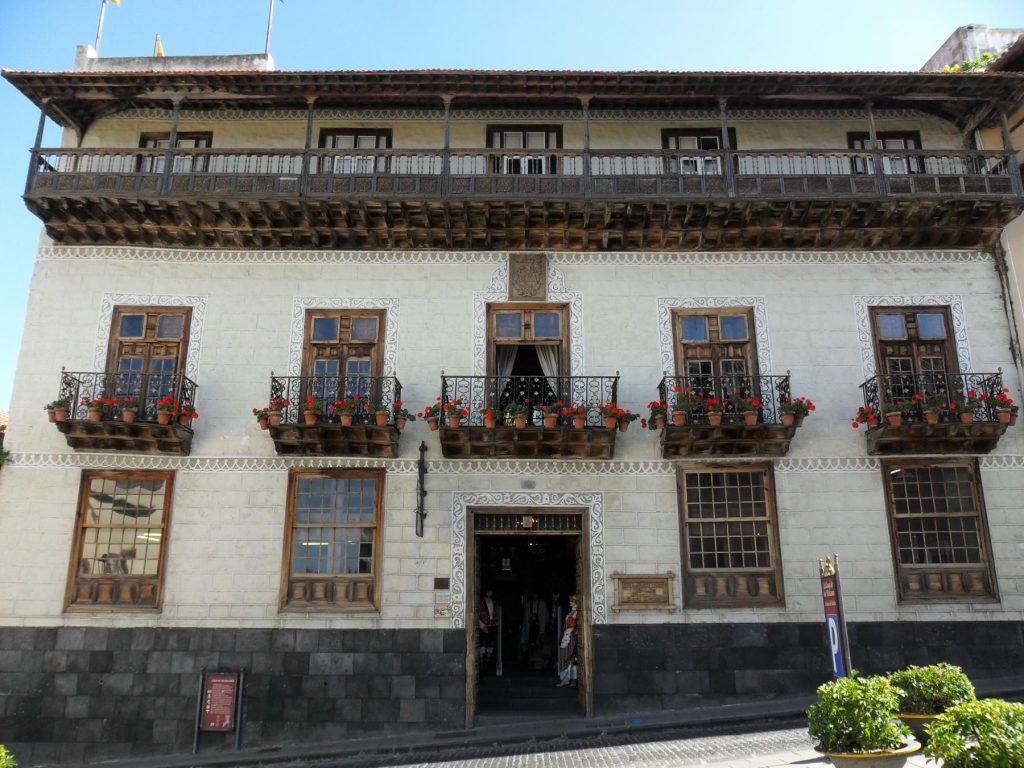 Balkonhäuser La Oratava auf Teneriffa