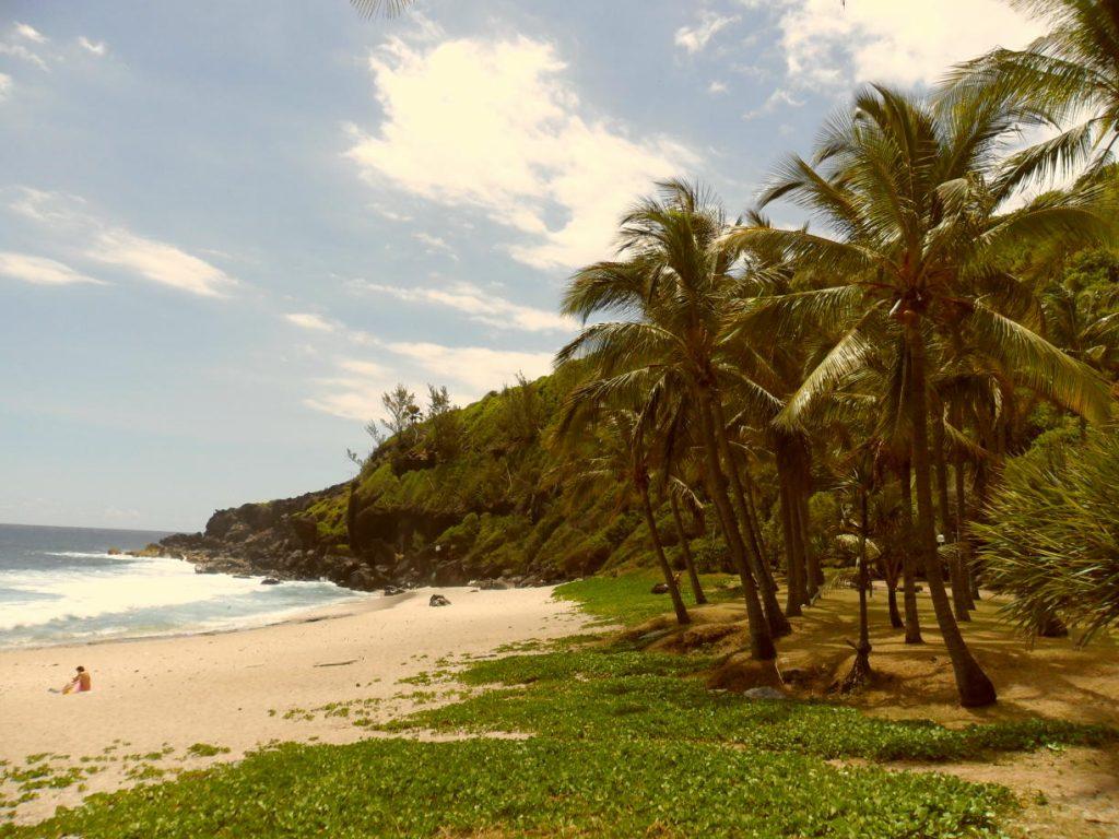 Bucht von Grande Anse auf der Insel Réunion