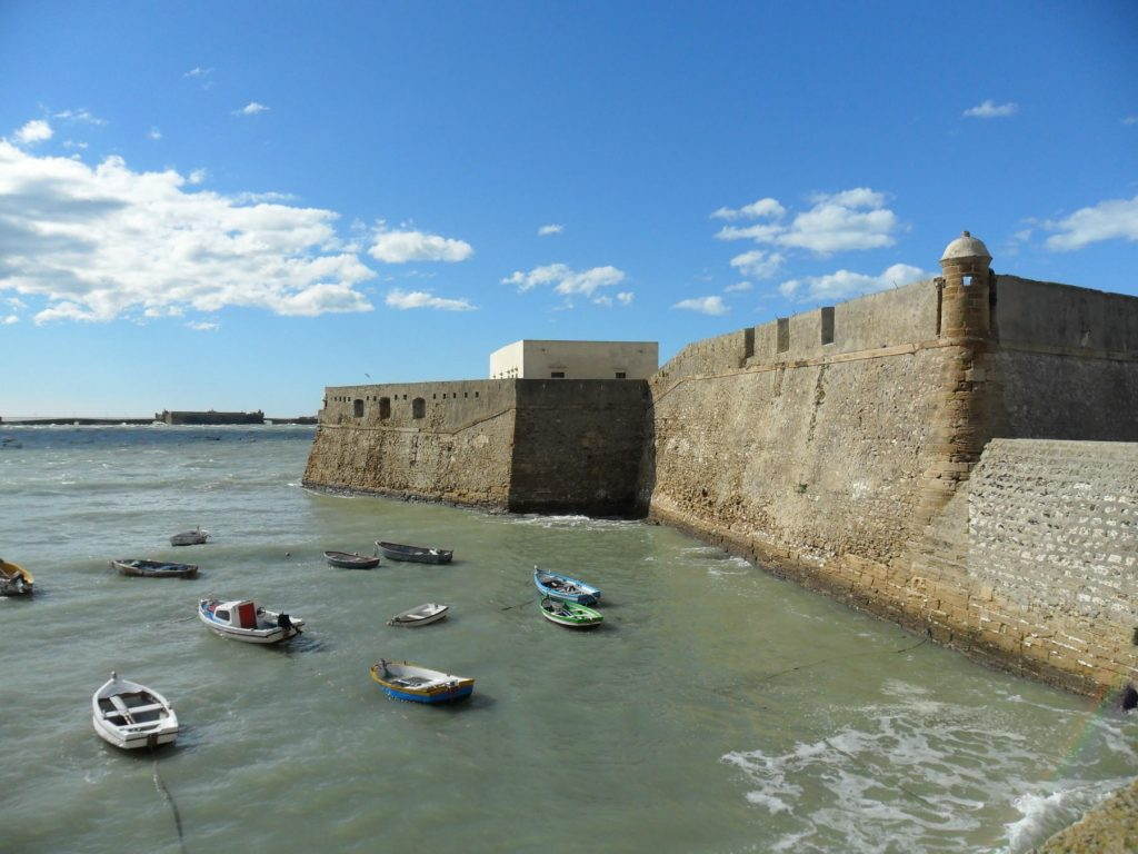 Cádiz in in Andalusien