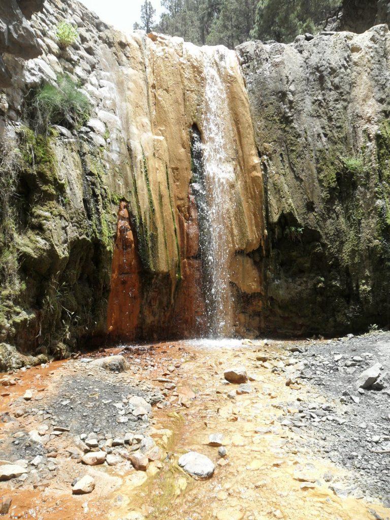 Cascada Colores auf La Palma