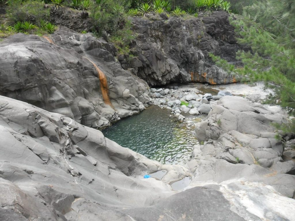 Fluss Bras Rouge auf Réunion
