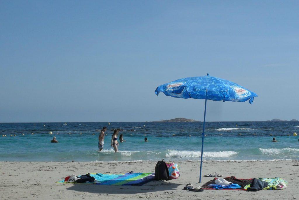 Plage Palombaggia auf Korsika