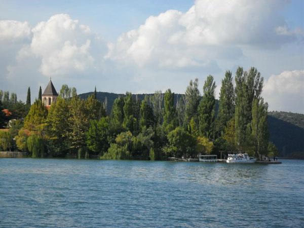 Klosterinsel Visovac - Nationalpark Krka
