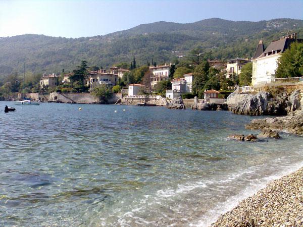 Lovran in Istrien
