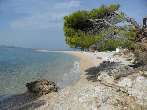 Strand von Makarska