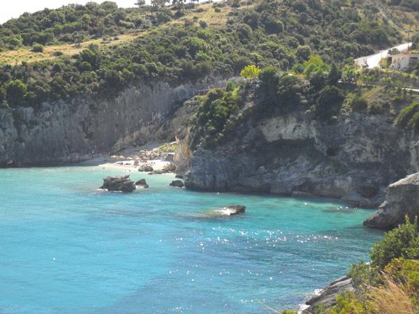 Blick auf Xigia Beach
