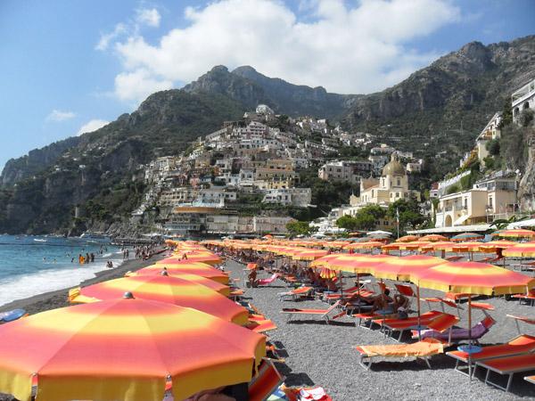 Positano, Amalfiküste, Italien