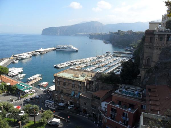 Sorrent - Golf von Neapel