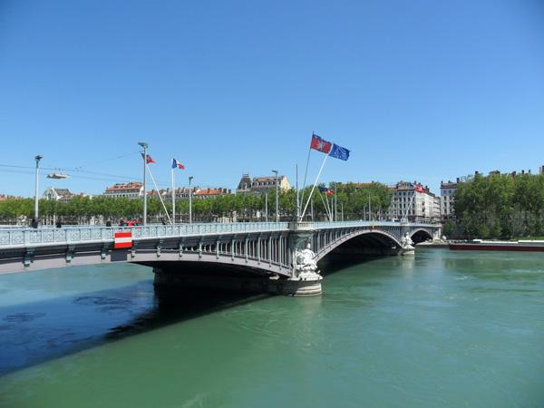 Brücke in Lyon