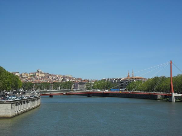 Brücken in Lyon