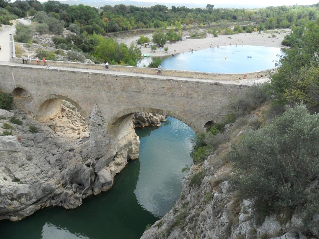 Pont du Diable – grandioses Panorama und Weltkulturerbe