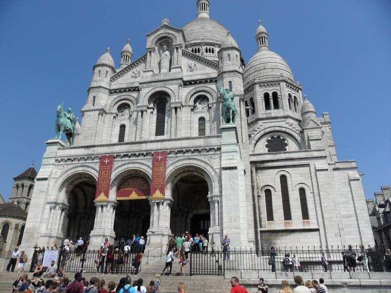 Sacré-Coeur (Montmartre) in Paris