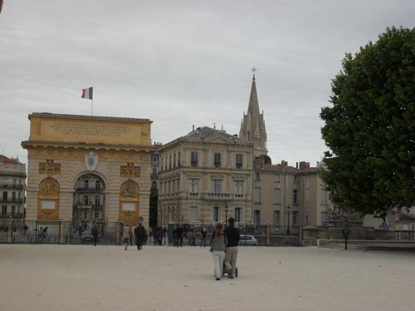 Arc de Triomphe - Montpellier