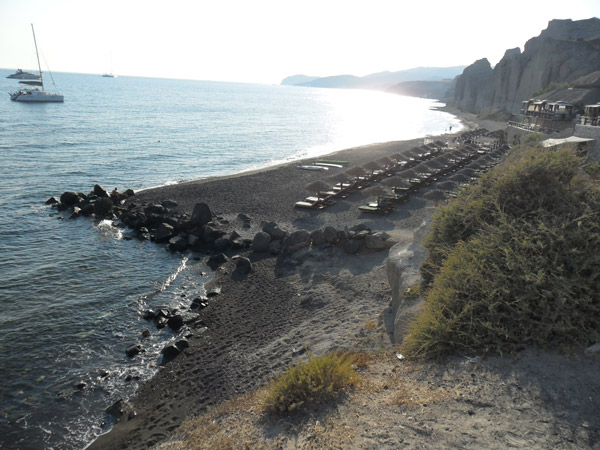 Eros Beach - Santorini