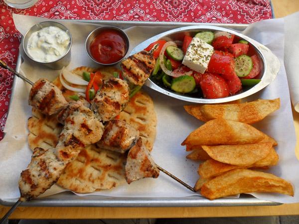 Unser letztes griechisches Essen in Iraklio