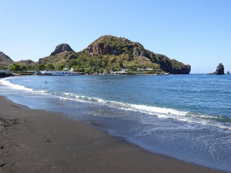 Schwarzer Strand Insel Vulcano