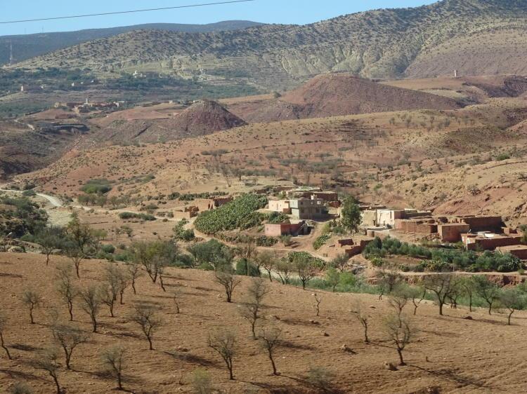 Busfahrt nach Agadir