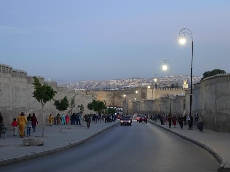 Blick auf Medina - Fès