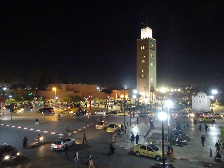 Marrakech bei Nacht