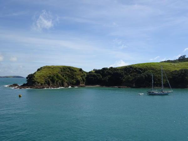 Fahrt nach Waiheke Island