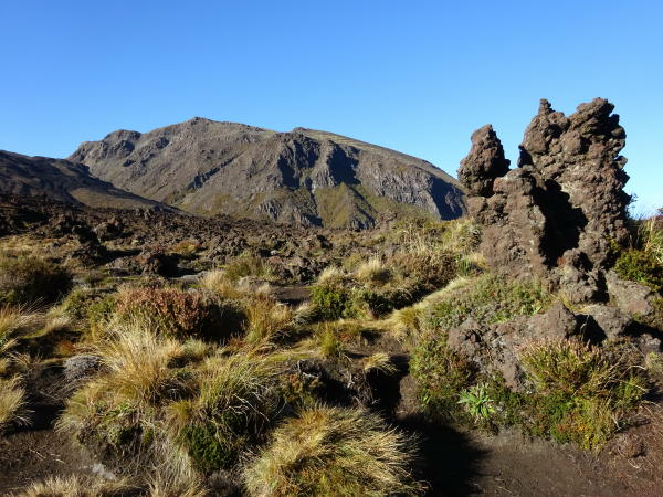 Vulkanlandschaft - Tongariro Alpine Crossing