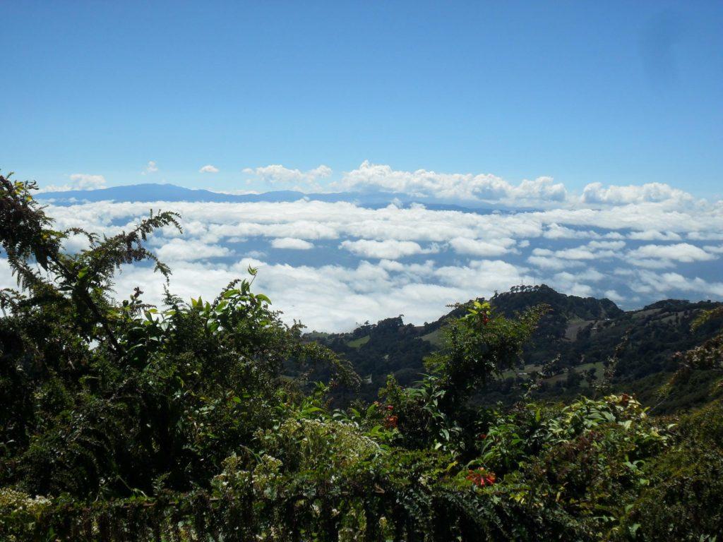 Über den Wolken in Costa Rica