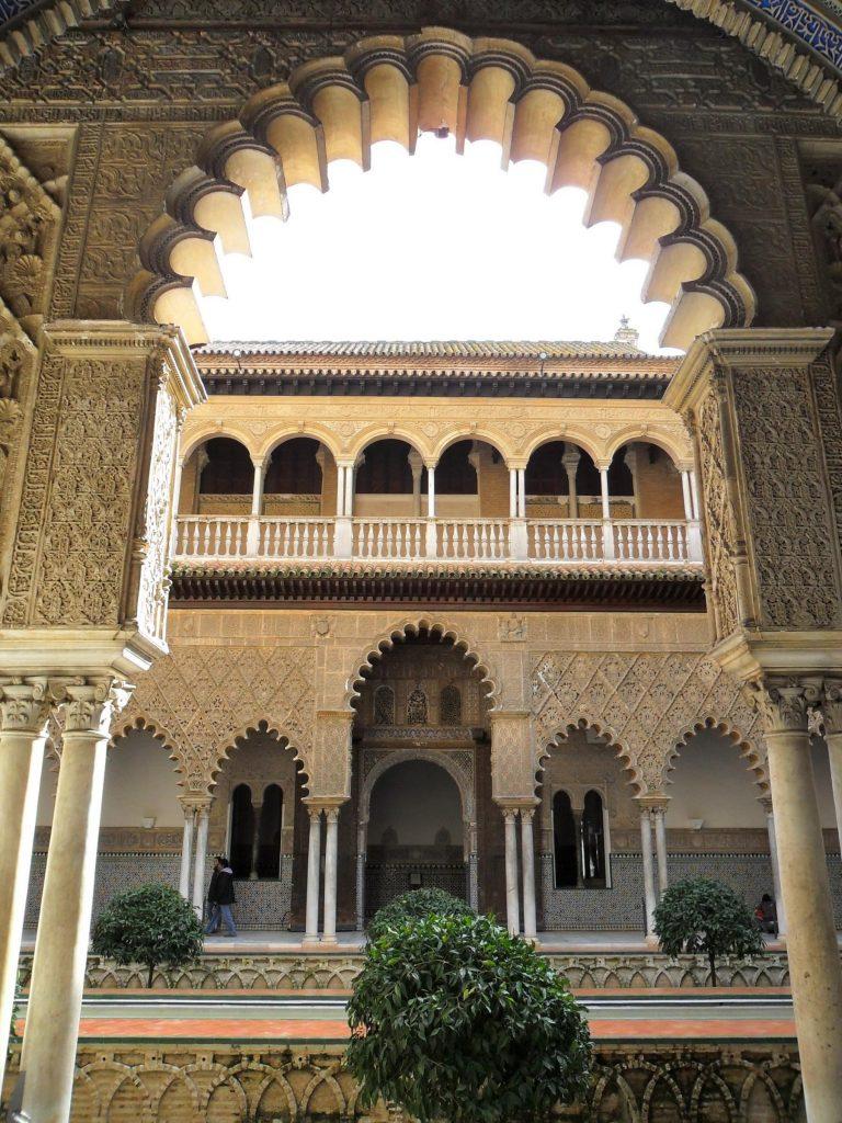 Alcázar Sevilla in Andalusien
