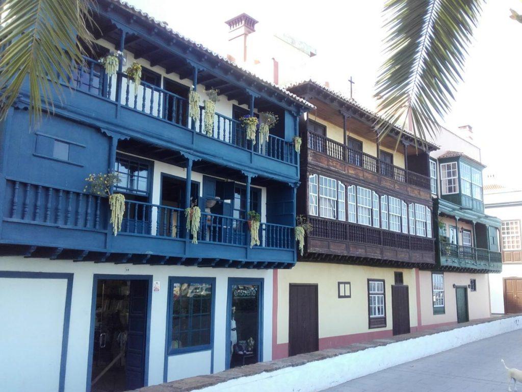 Balkone in Santa Cruz de la Palma