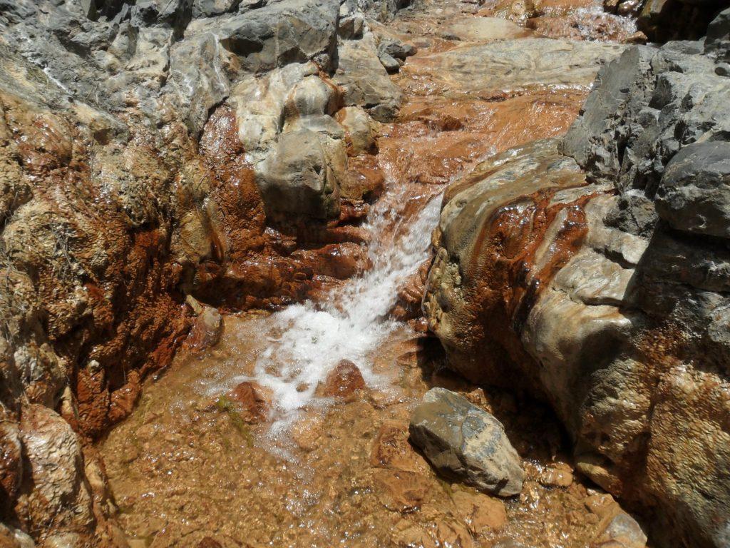 Eingang Cascada Colores auf La Palma