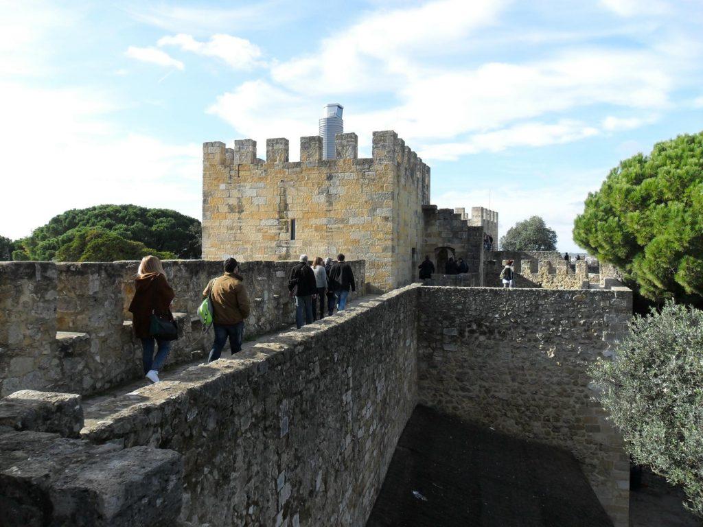 Castelo São Jorge in Lissabon