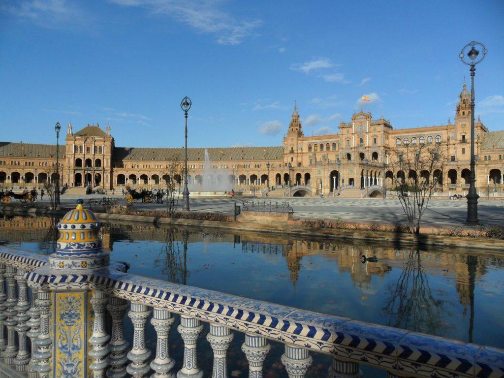Plaza de España Sevilla in Andalusien