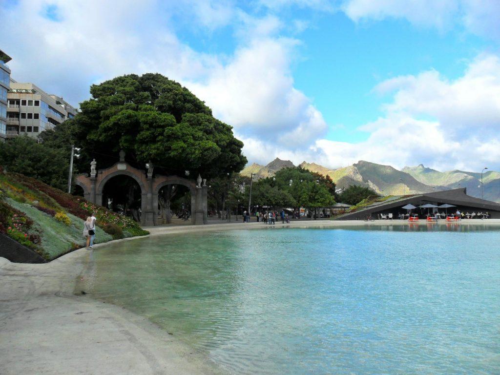 Plaza de España in Santa Cruz de Tenerife (Teneriffa)