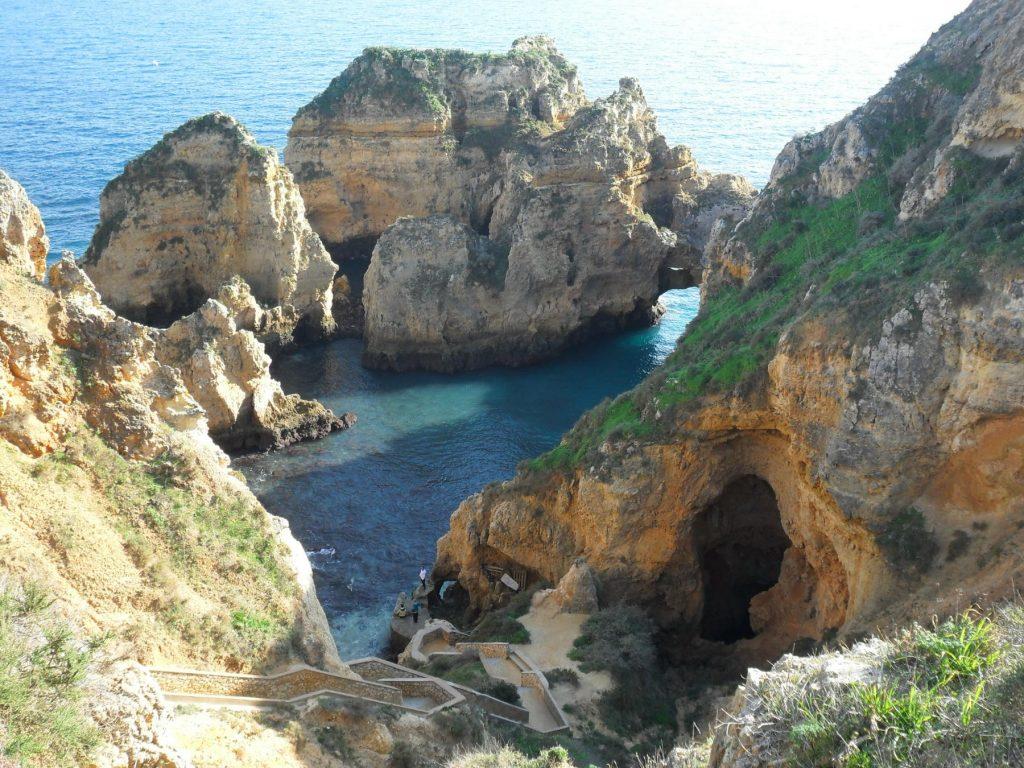 Ponta da Piedade in der Nähe von Lagos an der Algarve