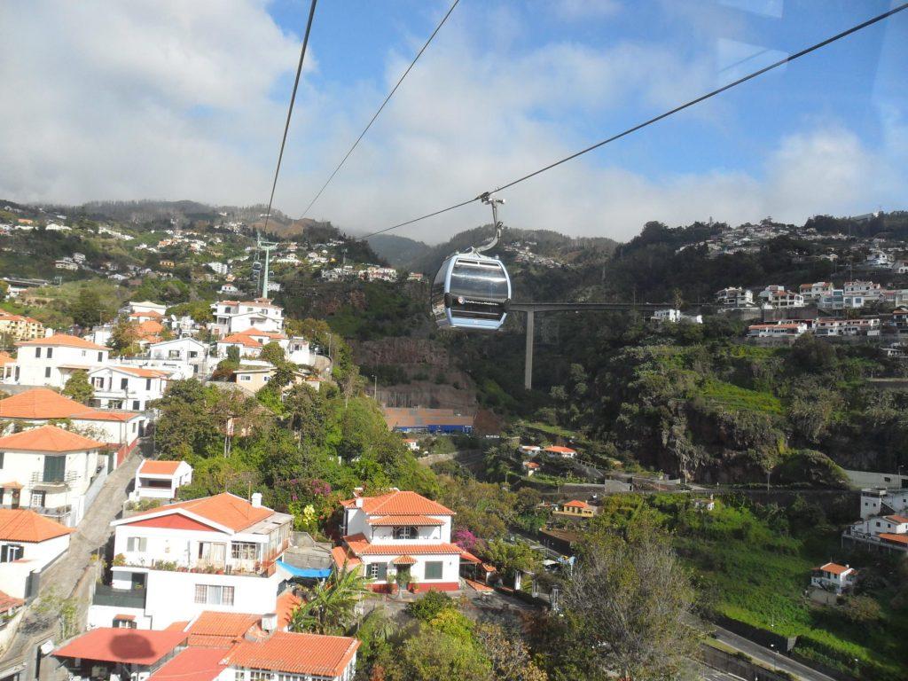 Seilbahn Funchal Monte auf der Insel Madeira