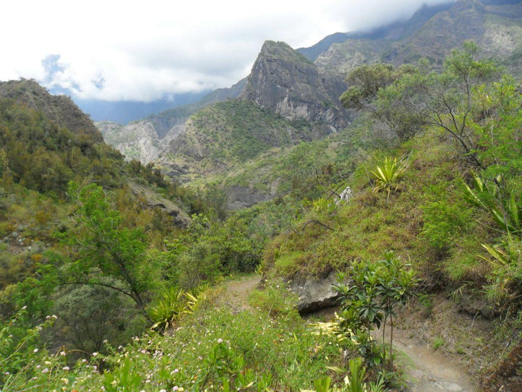 Wandern im Cirque de Cilaos auf Réunion
