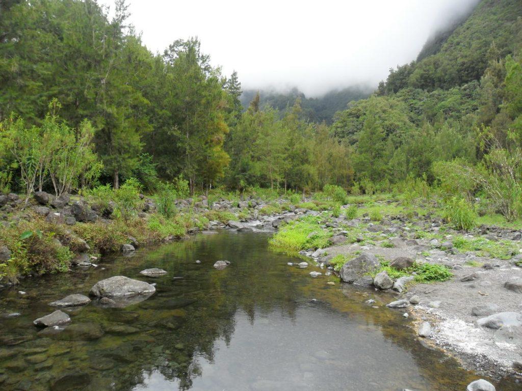 Wandern auf Réunion auf der Insel Réunion