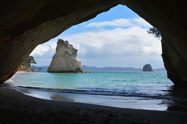 Neuseeland - Cathedral Cove (Coromandel)