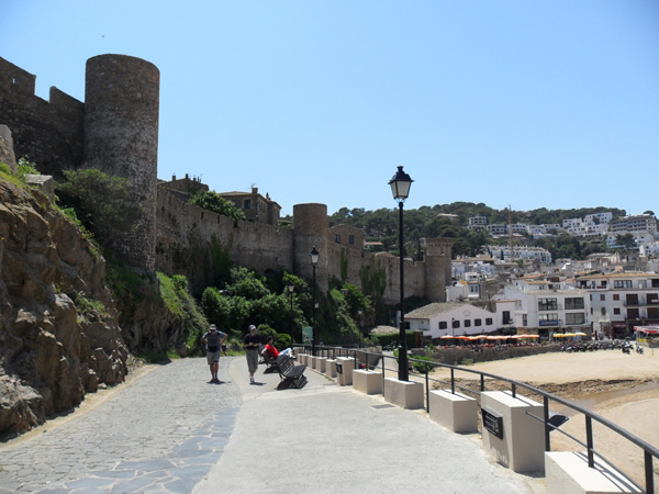 Weg zur Festung
