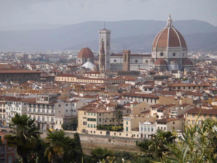 Blick über Florenz