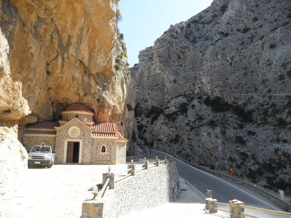Canyon Richtung Süden von Kreta