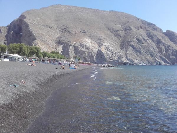 Perissa Beach - Santorini