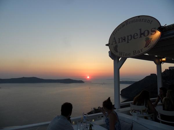 Sonnenuntergang - Fira