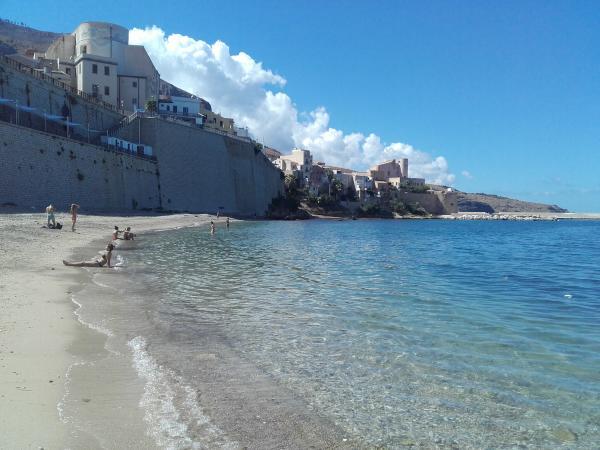 Strand von Castellammare del Golfo