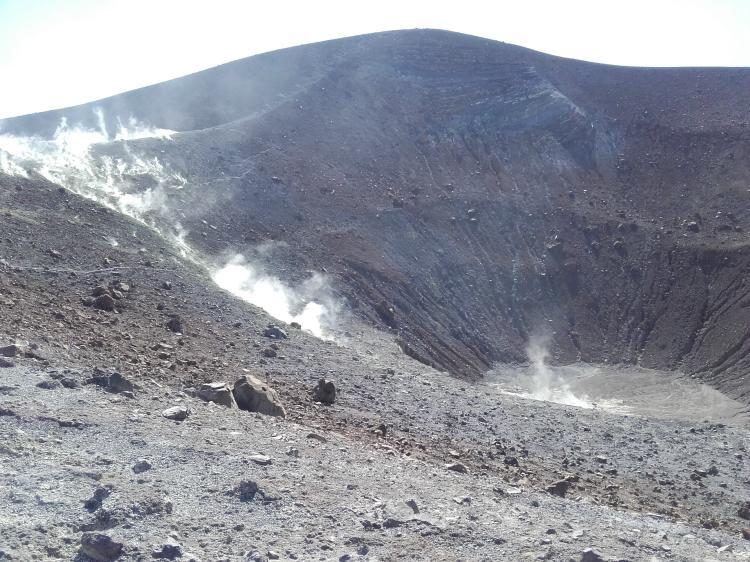 Krater Insel Vulcano