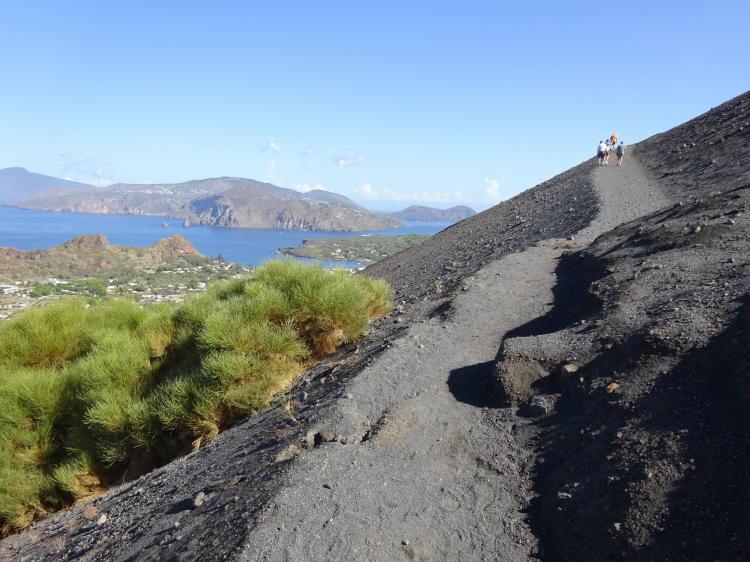 Wanderung zum Krater - Insel Vulcano