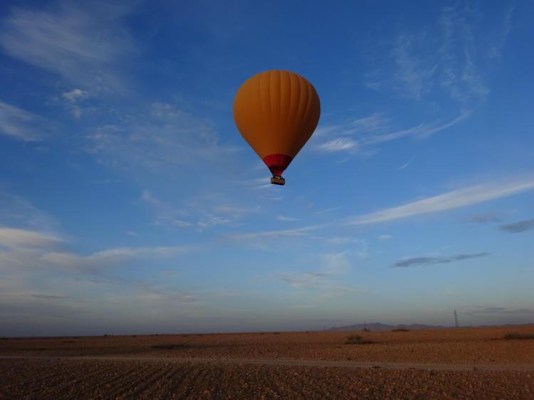 Heißluftballonflug Marokko