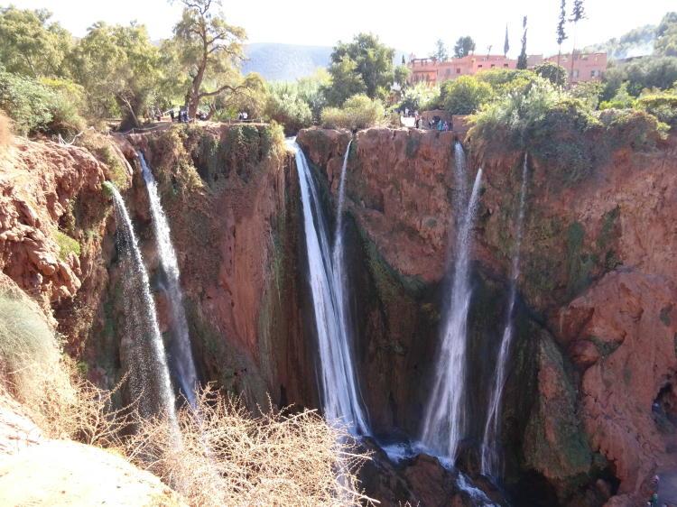 Ouzoud Wasserfälle