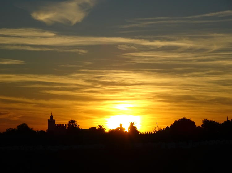 Sonnenuntergang Fes