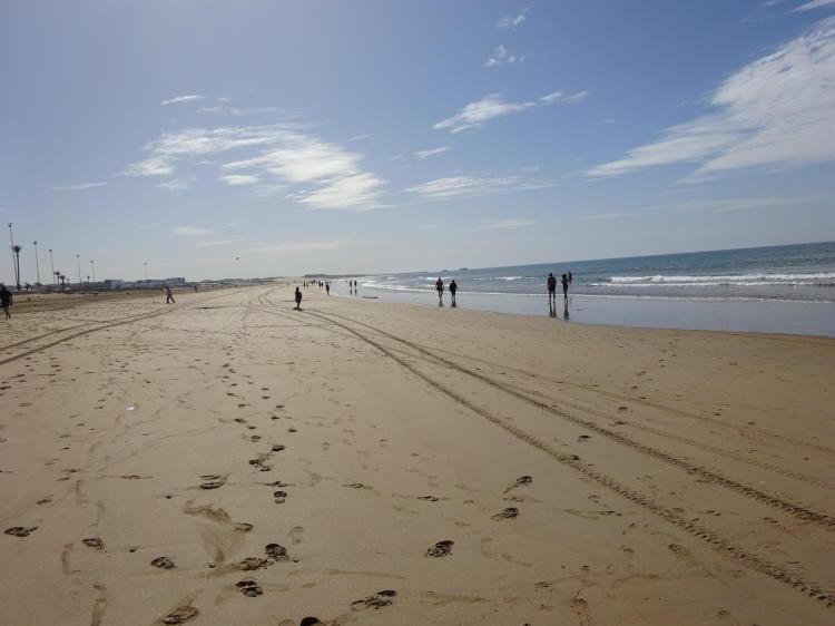 Strandspaziergang Agadir