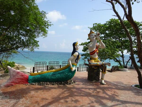 Statue von Aphai Mani - Ko Samet